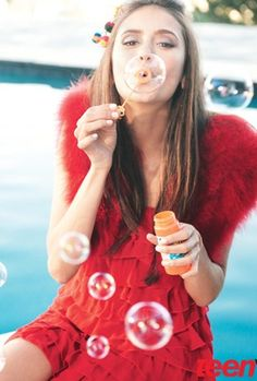 Nina Dobrev in Teen Vogue