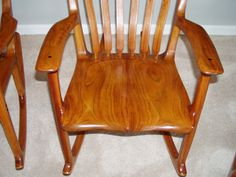 Incredible 11 Best Sam Maloof Inspired Rocking Chairs Images Sam Machost Co Dining Chair Design Ideas Machostcouk