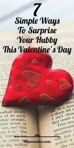 7 Simple Ways To Surprise Your Hubby This Valentine& Day My Funny Valentine, Valentines Surprise, Valentine Day Special, Valentines Day Gifts For Her, Valentine Day Crafts, Holiday Crafts, Holiday Fun, Valentine Ideas, Holiday Ideas