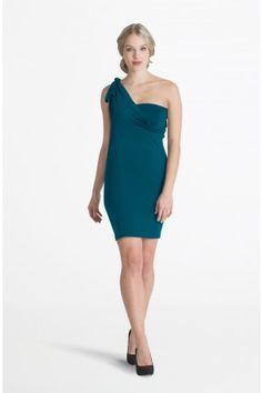 Calla Deep Teal Midi Convertible Dress