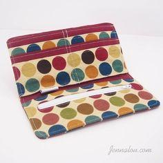 A Girl's Best Friend Wallet PDF Sewing Pattern