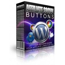 Affiliate Social Buttons Plugin - MRR WordPress Plugin