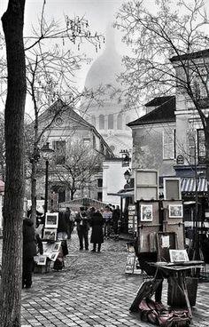 Place du Tertre,Monmartre