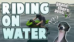 Driving On The Water (GTA Online Funny Moments)