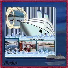 alaskan vacation scrapbooking ideas | Breathtaking Alaska - Digital Scrapbooking Gallery at Digitals