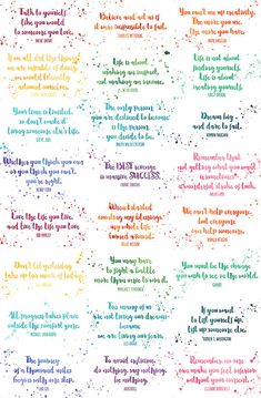 Assorted Inspirational Quotes Cards