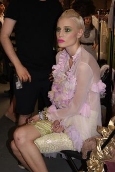 HE LOST MY SHOES: Westminster Graduates Fashion Show (Backstage)