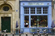 feeling blue in Paris