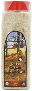 Coombs Family Farms 100% Organic Maple Sugar, 25 oz Container