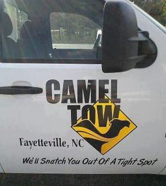 Camel Tow- I ADORE people that laugh and have a good time, no matter he situation. BLESS YOU tow company!
