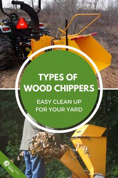 Wood chippers are excellent to have handy for regular yard and garden maintenance. They also come in handy as a shredder for smaller brush materials and leaves. This article explains the variations of chipper designs and how they are best used for the materials you may need them for. #typesofwoodchippers #woodchipperguide #gardenchipper