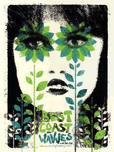 Best Coast, Wavves, No Joy  by Doe Eyed
