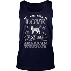Love and American Wirehair  Tank Tops T-Shirts, Hoodies ==►► Click Order This Shirt NOW!