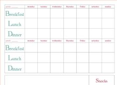 Meal Planning Templates Weekly Plan Template Weekmealplanner In Weekly Meal Planner Template Word - Professional Templates Ideas Monthly Menu Planner, Meal Planning Calendar, Free Meal Planner, Weekly Menu Planners, Dinner Planner, Menu Planning Template, Weekly Meal Plan Template, Meal Planner Template, Meal Planner Printable