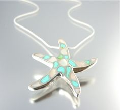 WEEKLY GIVEAWAY: Like Camla FB to win this gorgeous Sterling Silver and Mother of Pearl Caribbean Starfish Necklace on July 23!