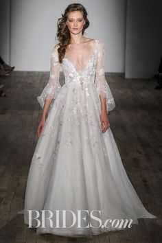 Hayley Paige Rogers Wedding Dress   http://www.brides.com/photos/hayley-paige-wedding-dresses-spring-2018-01
