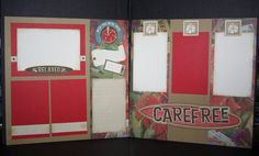 layout by Tina Lovell using CTMH Moon Doggie paper