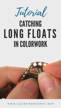 How to Catch Long Floats in Colorwork :: talvi knits How to Catch Long Floats in Colorwork :: talvi knits,stricken Learn a handy stranded colorwork knitting technique with this video tutorial: how to catch. Knitting Terms, Knitting Videos, Fair Isle Knitting, Knitting For Beginners, Knitting Stitches, Knitting Projects, Knitting Patterns, Sewing Projects, Free Knitting