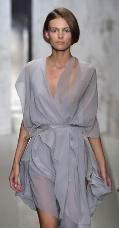 Donna Karan soft, flowy dress
