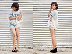 Ritu Arya - Choies T Shirt - Concrete Jungle