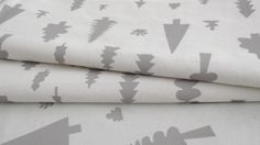 Bosque: tela serigrafiada a mano, screenprinted hand made fabric