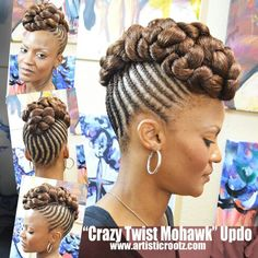 Women enjoy wearing box braids because these braids not only allow them to extend the length of their hair, but they can also wear different hairstyles with box braids. Although these styles look v… Natural Braided Hairstyles, Natural Hair Updo, African Braids Hairstyles, Natural Hair Styles, Black Girl Braids, Girls Braids, Big Braids, Updo Styles, Curly Hair Styles