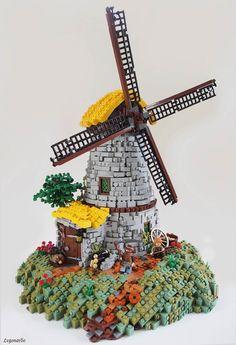 Des maisons en LEGO inspirées de l'univers du Seigneur de Anneaux