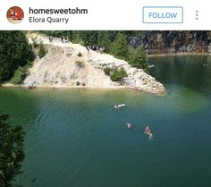 Elora Quarry Ontario, Things To Do, Canada, River, Outdoor, Things To Make, Outdoors, Outdoor Games, The Great Outdoors