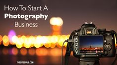 Go from amateur to professional photographer. Everything you need to know about building a strong foundation and starting your own photography business.