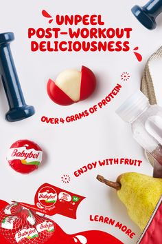 Whether you're looking for a pre-workout snack or an after-workout snack, Babybel is the tasty, satisfying, and 100% real cheese you need! Tap the Pin, and learn more. Babybel Cheese, Cheese Snacks, Cheese Trays, Yummy Snacks, Healthy Snacks, After Workout Snack, Team Snacks, Milk The Cow, Cheese Ingredients