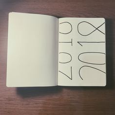 Bullet journal yearly cover page, minimalist cover page.   @wanjingchen_