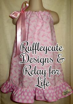 Ruffleycute Designs teams up with Relay for Life!