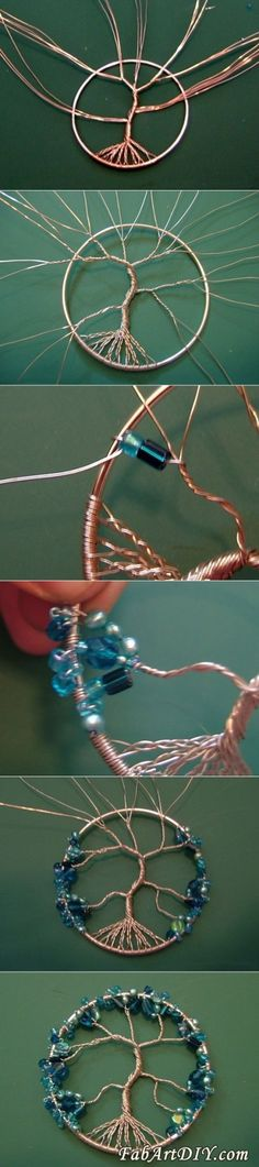 """ DIY Beaded Dream Catcher ""                                                                                                                                                     More"