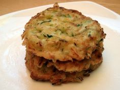 Breakfast Zucchini Pancakes - Zucchini, Egg, Green Onion, Sea Salt, Pepper, Olive Oil - SCD Legal, Grain Free, Gluten Free, Paleo