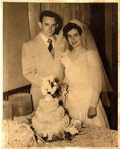 My parents, Bobby Eugene Fletcher and Jeanne Marlane Webster on their wedding day.