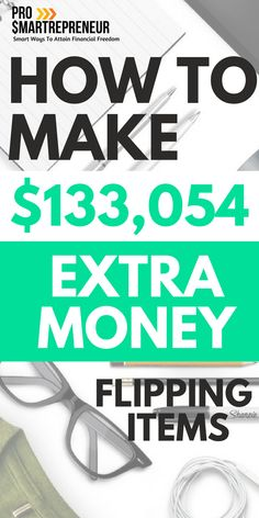 Money making by flipping items is a real thing. Flip item for a living, making enough money to quit their daytime job. The duo (Rob and Melissa) made a total of $133,054 in 2016 alone. Learn how they did it and how you can too.