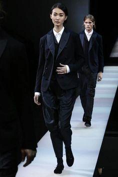 Giorgio Armani Menswear Fall Winter 2015 Milan