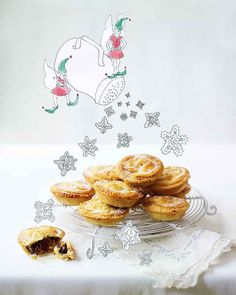 You can't celebrate Christmas without a mince pie in hand, or at least on standby. With crisp golden pastry and a sticky, sweet filling you'd better make double as they'll be flying off the table.