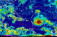 09/05/2017 - Irma strengthens to a Cat 5 storm as it nears Caribbean