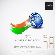Let's unite as one to celebrate this important day in our nation's history Happy Independence Day. Independence Day Poster, Happy Independence Day India, Creative Poster Design, Creative Posters, Navratri Wishes, National Festival, National Days, Indian Festivals, Logo Design