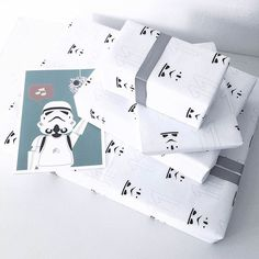 Star wars wrapping