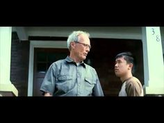 The Quintessence of Gran Torino. Performed by Walt Kowalski (Clint Eastwood) Gran Torino Film, Clint Eastwood, Trailers, Youtube, Movies, Films, Hang Tags, Cinema, Movie