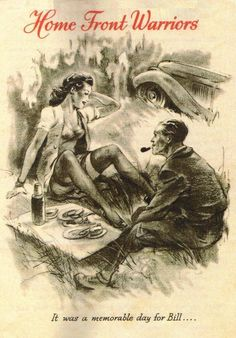 """""""Home Front Warriors"""" Germany used against allies in Italy. In this series, Bill is a draft dodger, taking liberties with soldiers girlfriends, while the soldiers fight on the front.  Germany c. 1943-1944"""