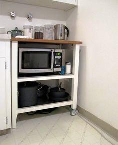 IKEA Stenstorp As Microwave Cart