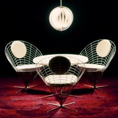 Cone Chair By Verner Panton, 1958 With This Chair Panton Turned Convention  On Its Head By Inverting The Cone, Creating An Effect Which Was Both  Futuristic ...