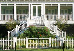 Like the screen doors - Coastal Residence - traditional - exterior - charleston - Herlong & Associates Architects + Interiors