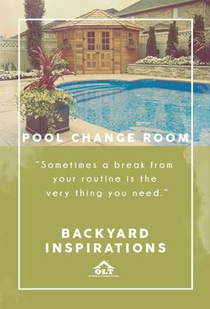 It doesn't take much to transform a space into a place you can truly relax. Think comfortable seating, lush foliage, and a small pool to cool off in during those hot summer days. Pair this with an outdoor serving area and pool change room and it will rival the amenities of a five-star resort.