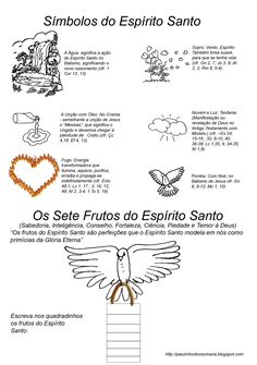 """Catequese - """"Perseverança & Crisma"""": Espírito Santo"""