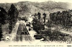Gare P.L.M. de PONT-de-LIGNON