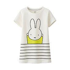 GIRLS miffy Short Sleeve Graphic T-Shirt
